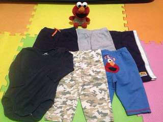 Assorted Pajama/Pants with free H&M Long Sleeve Onesies