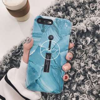 [PO] Blue Green Oil Painting Phone Case