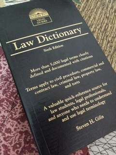 [Brand New] Law Dictionary