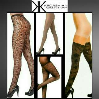 NWT Kardashian Kollection Tights / Stockings