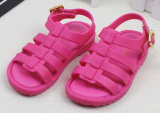 Melissa look alike Jelly sandles