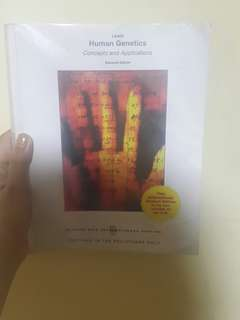 Human genetics book