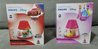 Philips 2 in 1 LED Night Light & Projector (Disney Cars, Princess)