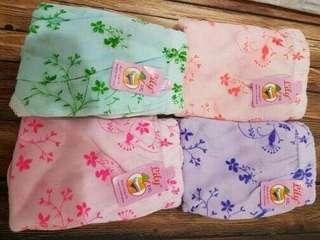 Lily sablon warna (perlusin) L , XL , XXL