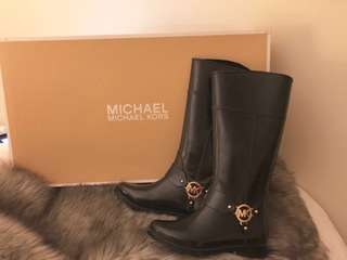 Michael Kors Rubber Boots 🖤
