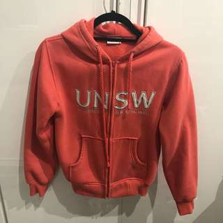 UNSW hoodie size 6