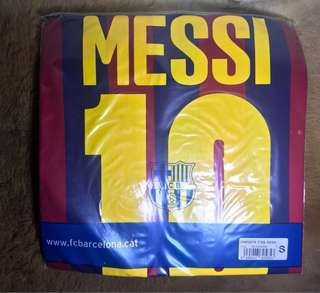 Original Messi Barcelona UNICEF football soccer Jersey BNWT