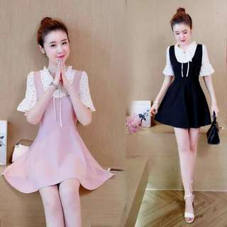 Korean 2in1 Dress