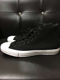 Converse Chuck Taylor 2 us11 黑 All Star 全新正品