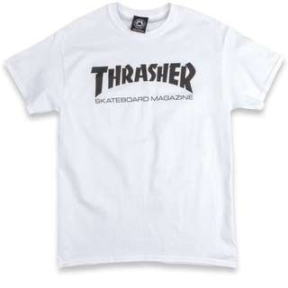 white thrasher tshirt