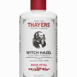 Thayers witch hazel toner.. ONHAND!!
