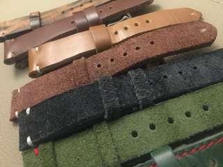 20mm vintage strap 錶帶