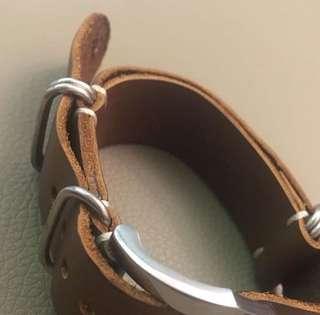 20mm Zulu strap vintage 錶帶