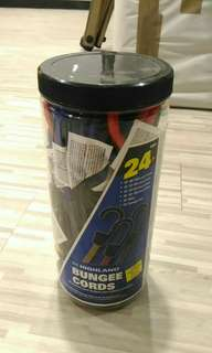 Highland Bungee Cords 24 pc