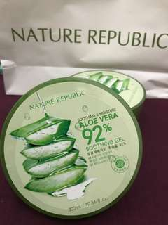 NATURE REPUBLIC ALOEVERA 92% SOOTHING GEL! [TERIMA SHARE IN A JAR JUGA!!]