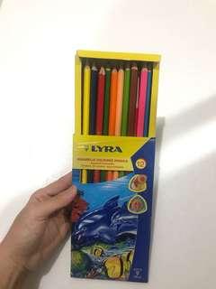 LYRA Pensil warna aquarelle coloured pencils