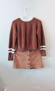 [fire sale] sweater + dress