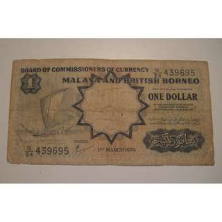 malaya one dollar