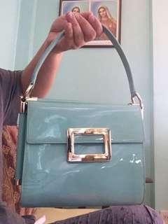 Roger Vivier RV handbag in patent leather