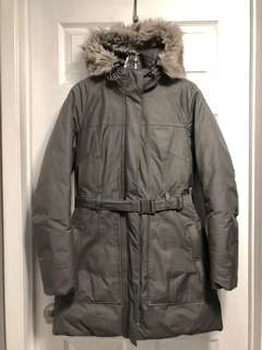 NORTHFACE BROOKLYN PARKA, Grey, size Medium