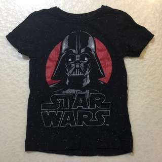 Star Wars t-shirt size2-3