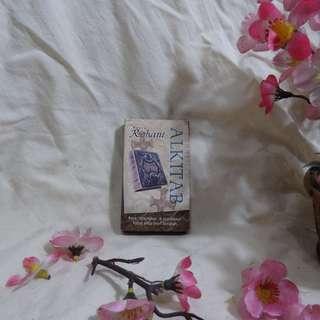 Kartu Rohani ALKITAB KRISTIANI (BIBLE Card Christian) - Cocok untuk Dibawa Kemana-mana (Travel Pocket Size)