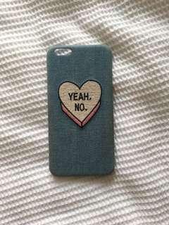Denim iPhone 6/6s plus case