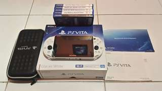 PS Vita Slim Glacier White Rare
