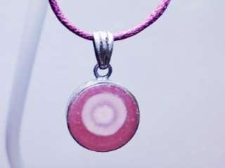 天然 紅紋水晶 完美紅潤 鏢把漸層 切片 吊咀 2.5g (包郵)