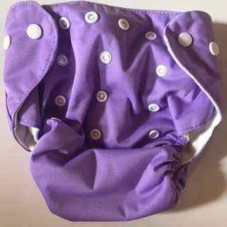 10 x pocket reusable nappies