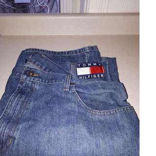 Vintage Tommy Hilfiger Big Box Logo Denim Jeans