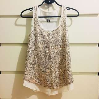 *REDUCED* Dynamite Gold Sequin Tank