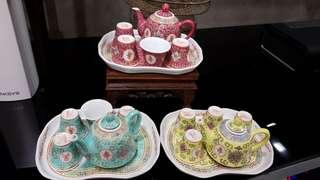 Mini Wan Shou Tea sets