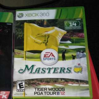 Xbox 360 golf - tiger woods pga tour 12