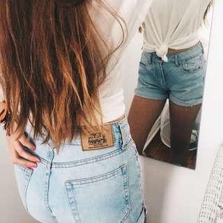 Jean shorts (size 36)