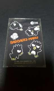 [$5 VALUE- LAST PIECE] bad badtz maru ezlink card