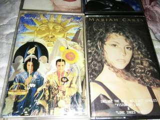 POP CASSETTE MADONNA MARIAH CAREY TEARS FOR FEARS MICHAEL JACKSON WHAM @ $9 EACH