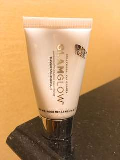 Glamglow super mud + glowstarter 白泥 面霜