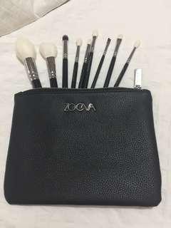 AUTHENTIC ORIGINAL ZOEVA Luxe Prime Set makeup brushes