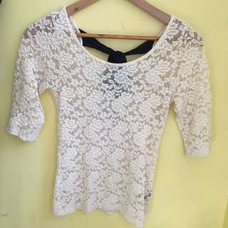 Forever21 lace blouse
