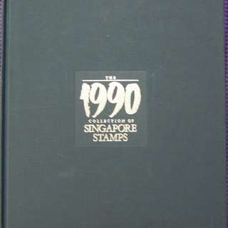 Singapore 1990 Annual Stamp Album ($33.90)