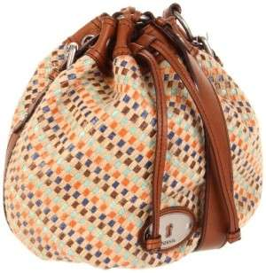 Fossil drawstring satchel original bag ori