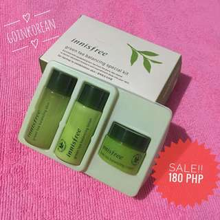 SALE!! INNISFREE GREEN TEA BALANCING KIT