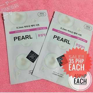 SALE ETUDE HOUSE PEARL MASK