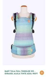 Baby Tula Full Standard WC - Girasol Alula Tinte Azul Weft - Full / Standard
