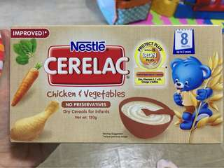 Cerelac chicken & vegetables