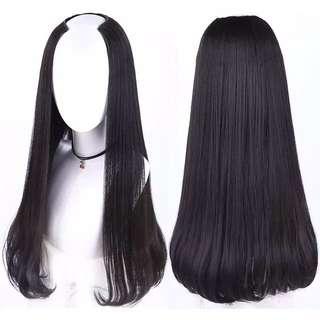 U shape C curls extensions