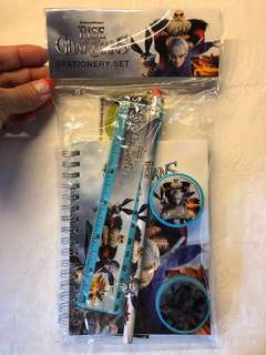 (Postage included )NEW Rise of The Guardians : Stationery Set