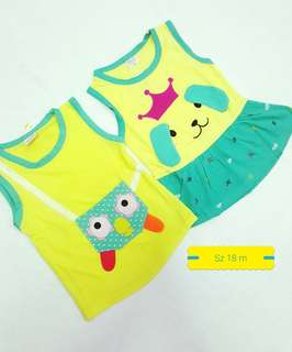 OBRAL ....😍 Girl's suits from 18-24 m