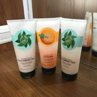 JUAL RUGI - The body shop Body sorbet (1paket)